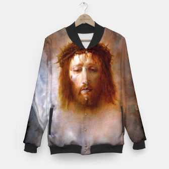 Thumbnail image of The Veil of Veronica Baseball Jacket, Live Heroes