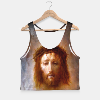 Thumbnail image of The Veil of Veronica Crop Top, Live Heroes