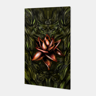 Thumbnail image of Red Flower Canvas, Live Heroes