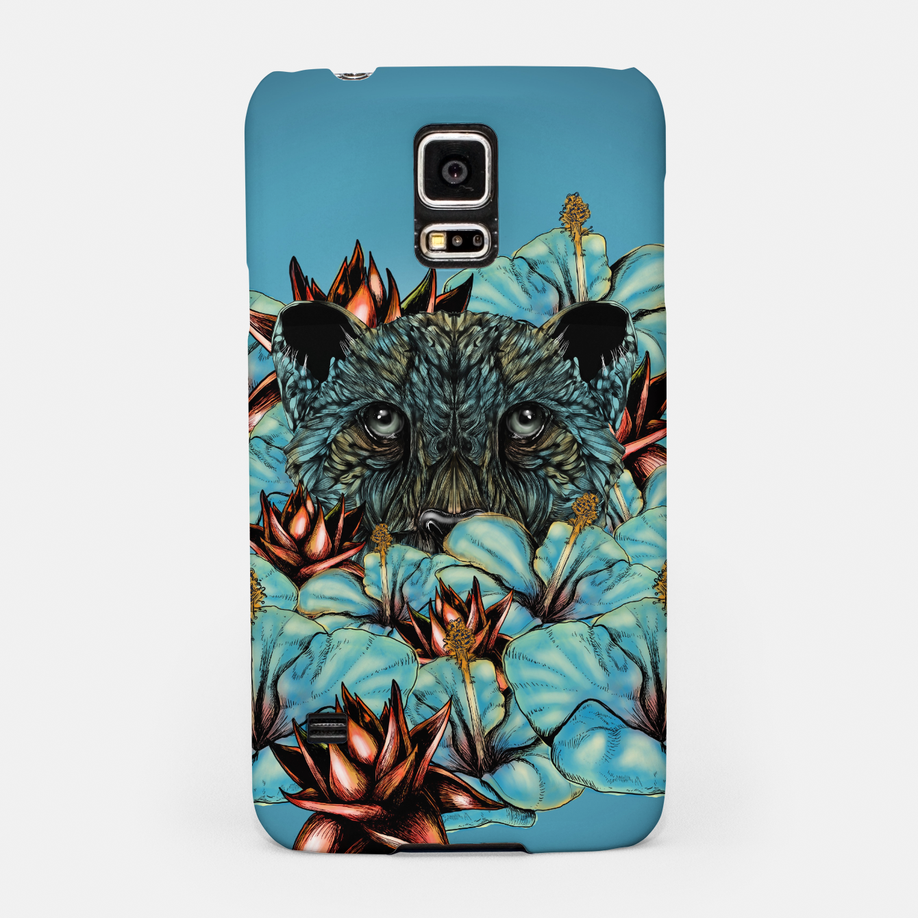 Zdjęcie The Tiger and the Flower Samsung Case - Live Heroes