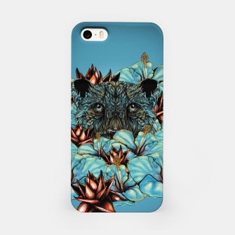 The Tiger and the Flower iPhone Case obraz miniatury