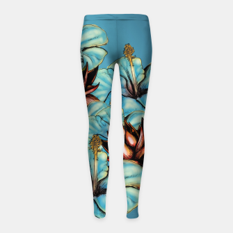 The Tiger and the Flower Girl's Leggings obraz miniatury