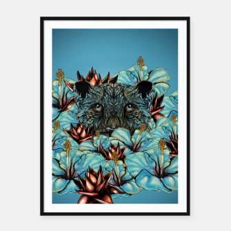 Imagen en miniatura de The Tiger and the Flower Framed poster, Live Heroes