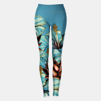 The Tiger and the Flower Leggings obraz miniatury