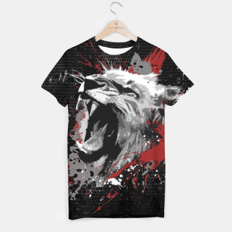 Thumbnail image of Raging Lion T-Shirt, Live Heroes