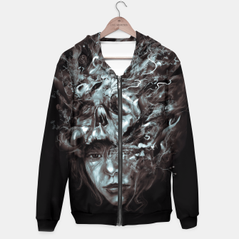 Thumbnail image of Empress Death Hoodie, Live Heroes