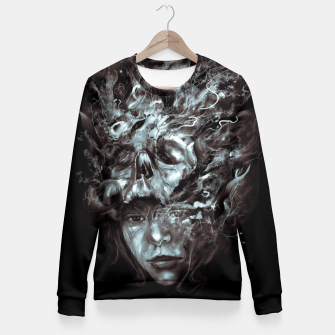Thumbnail image of Empress Death Fitted Waist Sweater, Live Heroes