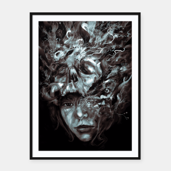 Thumbnail image of Empress Death Framed poster, Live Heroes