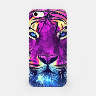 Thumbnail image of tiger purple spirit Obudowa iPhone, Live Heroes