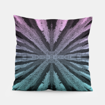 Miniatur Pink and Blue Pillow, Live Heroes