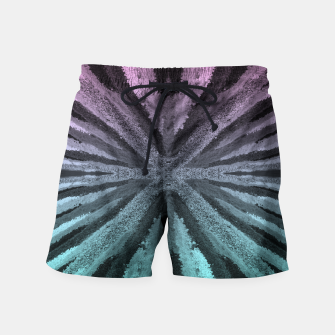 Miniatur Pink and Blue Swim Shorts, Live Heroes