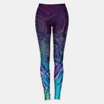 Thumbnail image of ferns Leggings, Live Heroes
