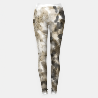 Thumbnail image of elegant feather with japanese Kamon decoration Leggings, Live Heroes