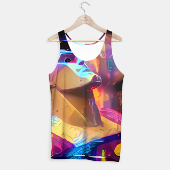 Thumbnail image of The Man Tank Top, Live Heroes
