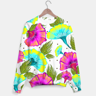 Thumbnail image of Ecstatic Floral Sweater, Live Heroes