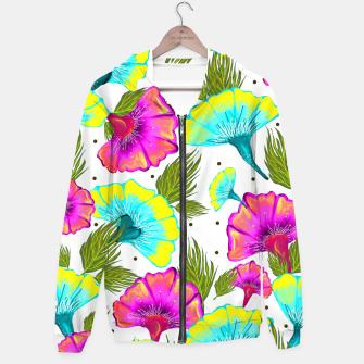 Thumbnail image of Ecstatic Floral Hoodie, Live Heroes