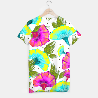Thumbnail image of Ecstatic Floral T-shirt, Live Heroes