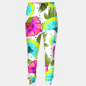 Thumbnail image of Ecstatic Floral Sweatpants, Live Heroes
