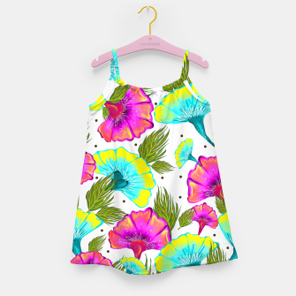 Ecstatic Floral Girl's Dress thumbnail image