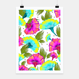 Ecstatic Floral Poster thumbnail image