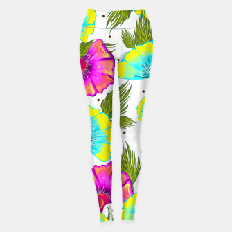 Thumbnail image of Ecstatic Floral Leggings, Live Heroes