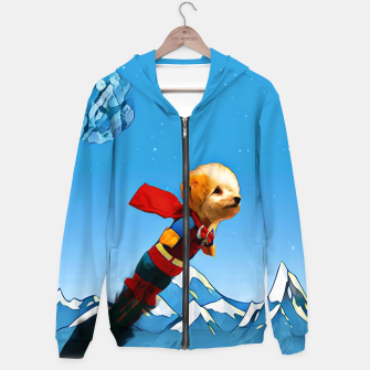 Thumbnail image of Super doggy Hoodie, Live Heroes