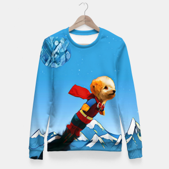 Thumbnail image of Super doggy Fitted Waist Sweater, Live Heroes