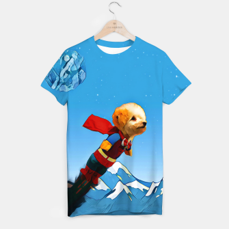 Thumbnail image of Super doggy T-shirt, Live Heroes