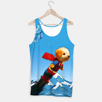 Thumbnail image of Super doggy Tank Top, Live Heroes