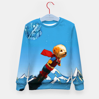 Thumbnail image of Super doggy Kid's Sweater, Live Heroes