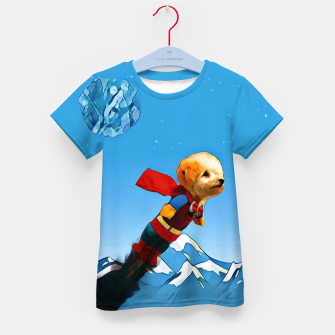 Thumbnail image of Super doggy Kid's T-shirt, Live Heroes