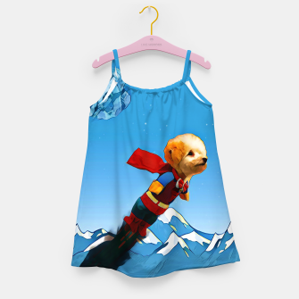 Thumbnail image of Super doggy Girl's Dress, Live Heroes