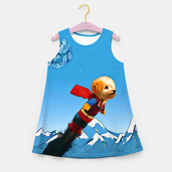 Thumbnail image of Super doggy Girl's Summer Dress, Live Heroes