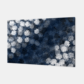 Thumbnail image of elegant flower peony blue white gradation  Canvas, Live Heroes