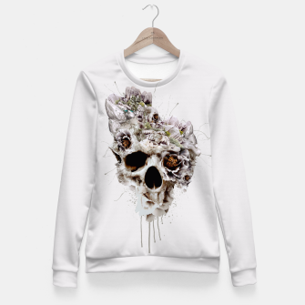 Thumbnail image of Skull Castle II Fitted Waist Sweater, Live Heroes