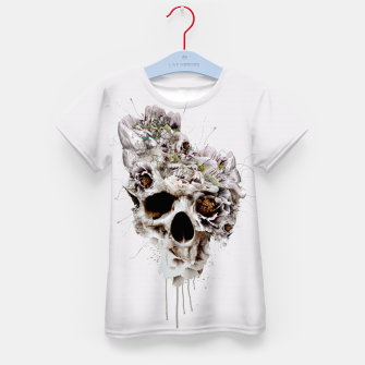 Thumbnail image of Skull Castle II Kid's T-shirt, Live Heroes