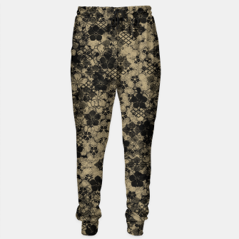 Imagen en miniatura de Japanese traditional Kamon decoration black  Sweatpants, Live Heroes