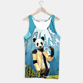 Thumbnail image of Panda taking selfie Tank Top, Live Heroes