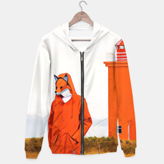 Thumbnail image of Foxy and the lighthouse Hoodie, Live Heroes