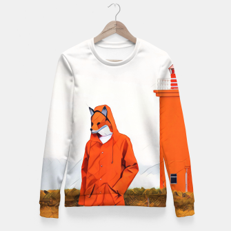 Thumbnail image of Foxy and the lighthouse Fitted Waist Sweater, Live Heroes