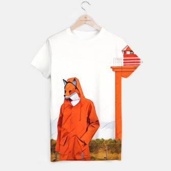 Thumbnail image of Foxy and the lighthouse T-shirt, Live Heroes