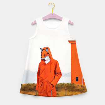 Miniatur Foxy and the lighthouse Girl's Summer Dress, Live Heroes