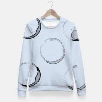 Unperfect Circles Fitted Waist Sweater Bild der Miniatur