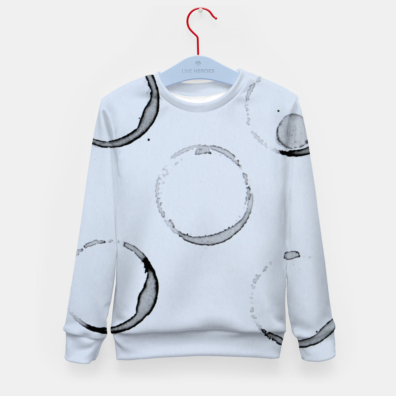 Foto Unperfect Circles Kid's Sweater - Live Heroes