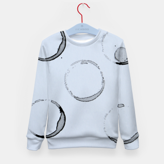 Miniatur Unperfect Circles Kid's Sweater, Live Heroes