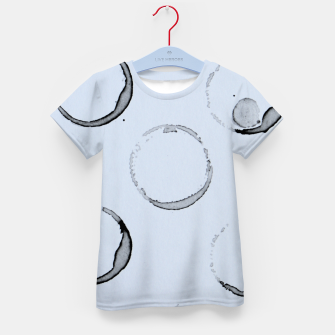 Unperfect Circles Kid's T-shirt Bild der Miniatur