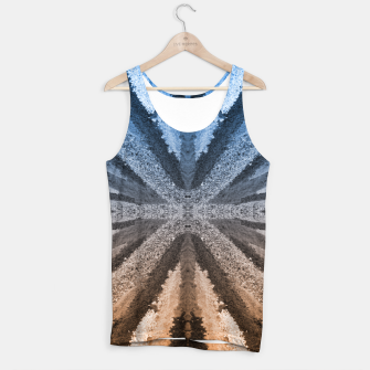 Miniatur Orange and Blue Tank Top, Live Heroes