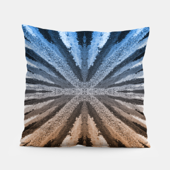 Miniatur Orange and Blue Pillow, Live Heroes