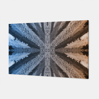 Miniatur Orange and Blue Canvas, Live Heroes