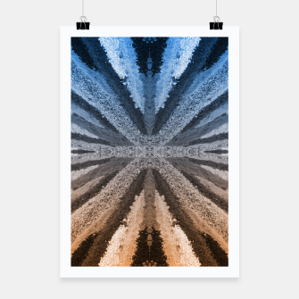 Miniatur Orange and Blue Poster, Live Heroes